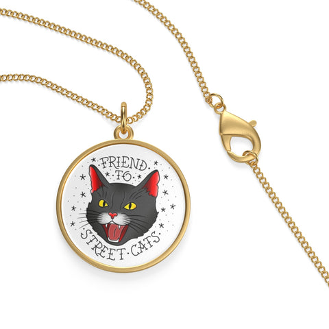 Friend to Street Cats Necklace