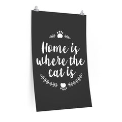 Where The Cat Is Poster