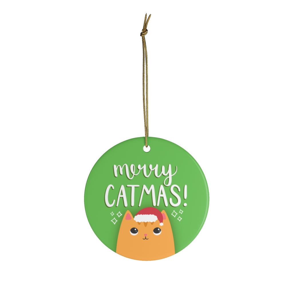 Merry Catmas Ornament
