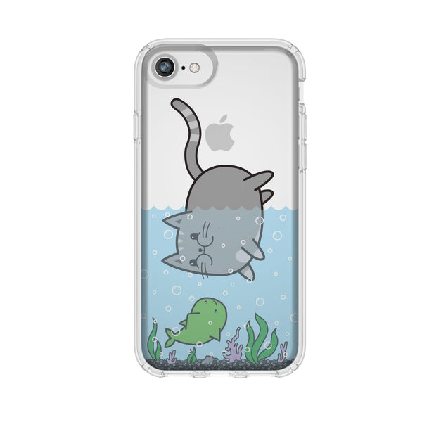 milton cat phone case