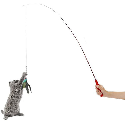 Play meowingtons for Cat fishing pole