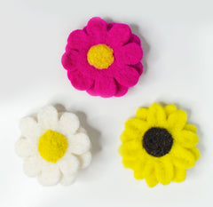 3 Pack Cat Collar Flower Accessory Bundle
