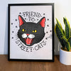 Friend to Street Cats Poster
