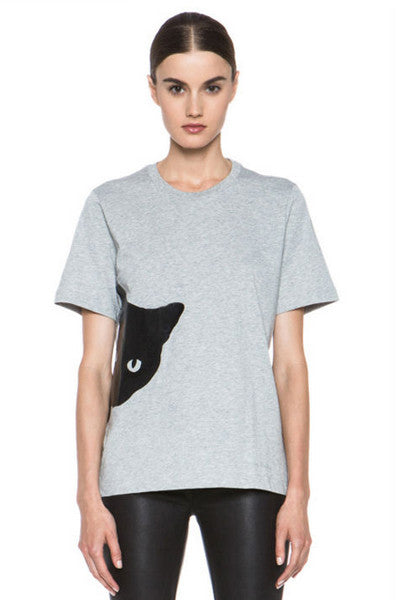 Creeper Cat Tee