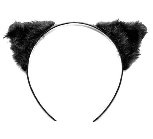 Furry Cat Ears Headband