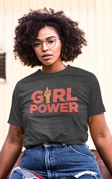 Girl Power Cat T-Shirt