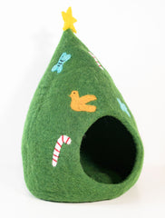 Limited Edition Christmas Tree Cat Cave