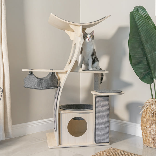 Cat Condo The Jungle Gym Cat Tree Meowingtons