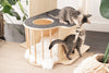cats playing in meowingtons jungle gym cat tree