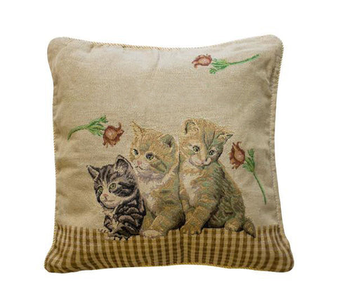 Classic Cat Toss Pillow