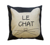 Le Chat Toss Pillow