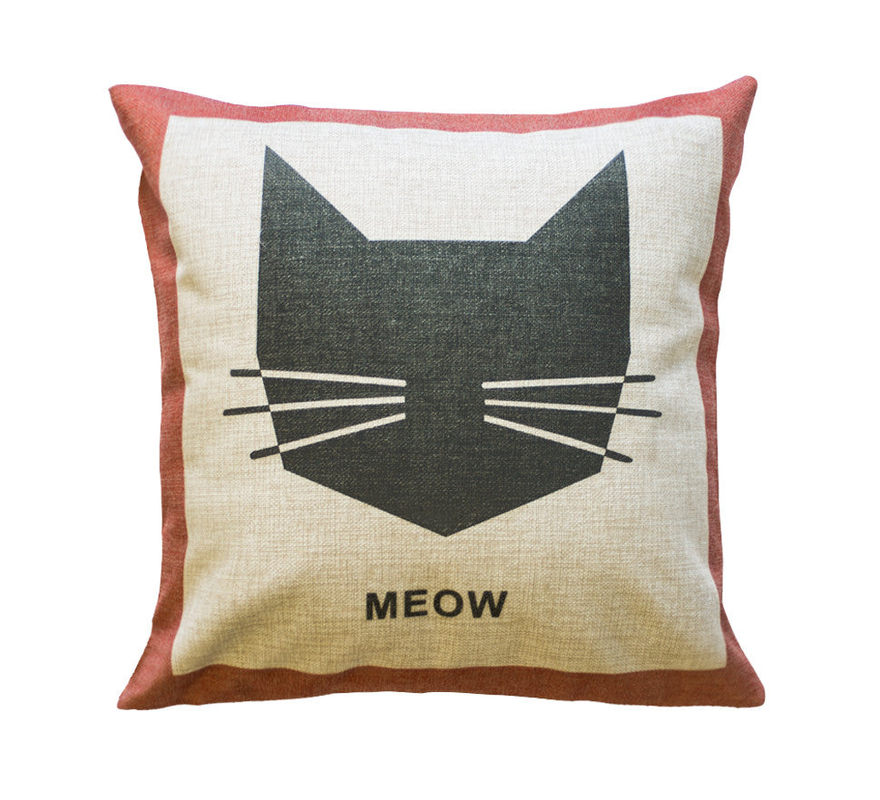 Meow Toss Pillow
