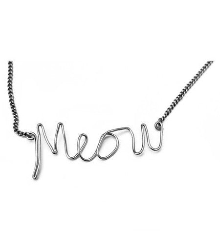 Meow Necklace