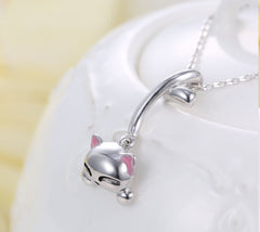 Merry Cat Necklace