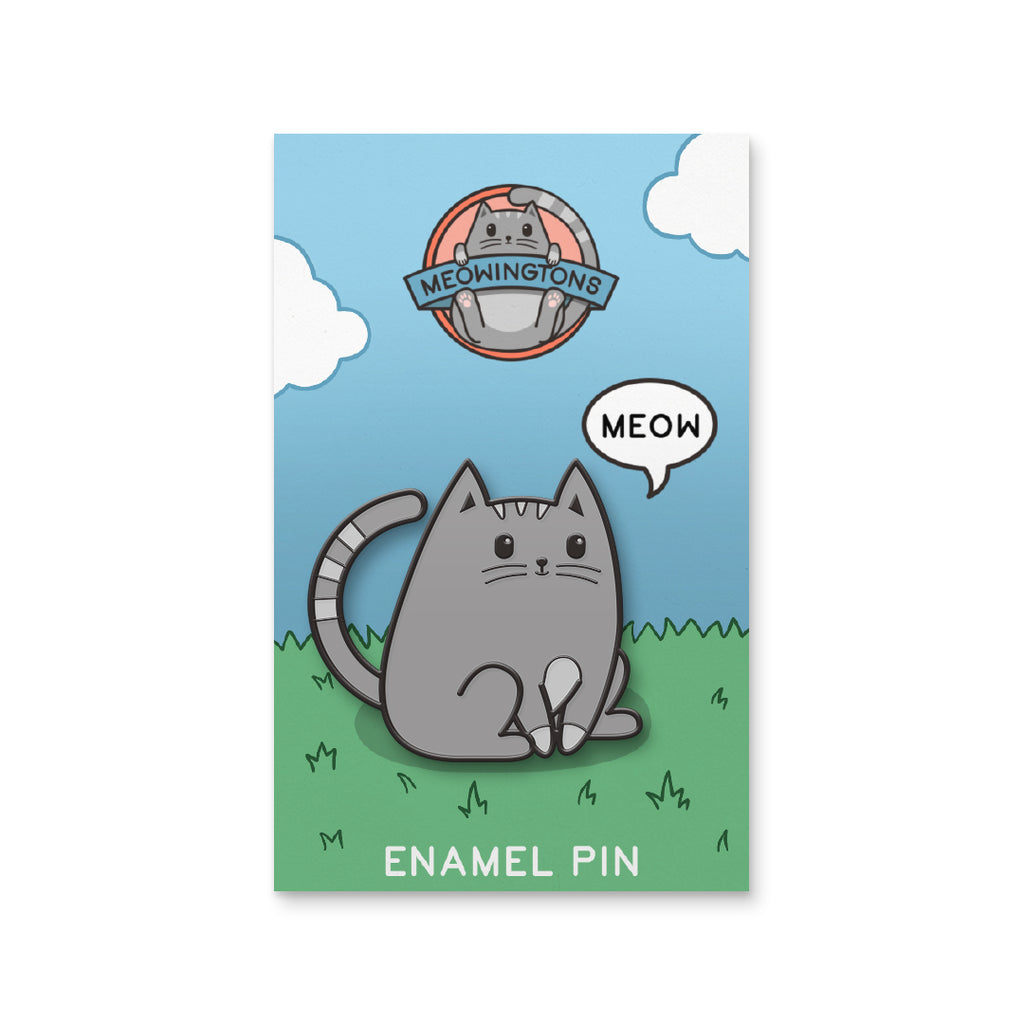 Milton the Cat Pin