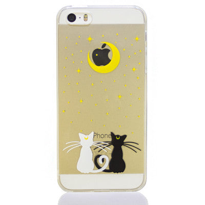 Moon Cats Phone Case