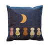 "canvas Moon Gaze Throw Pillow Case that fits pillows 16"" by 16"