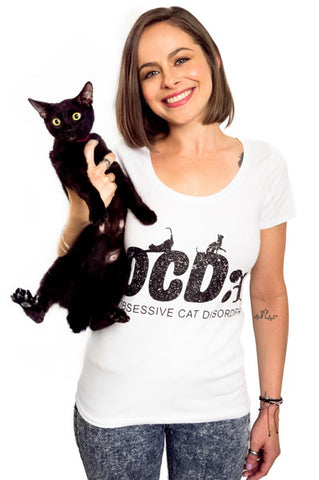 Obssessive Cat Disorder T-shirt