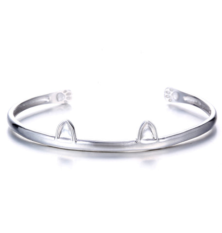 Paws and Ears Cat Bracelet