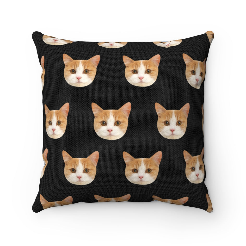Custom Cat Toss Pillow