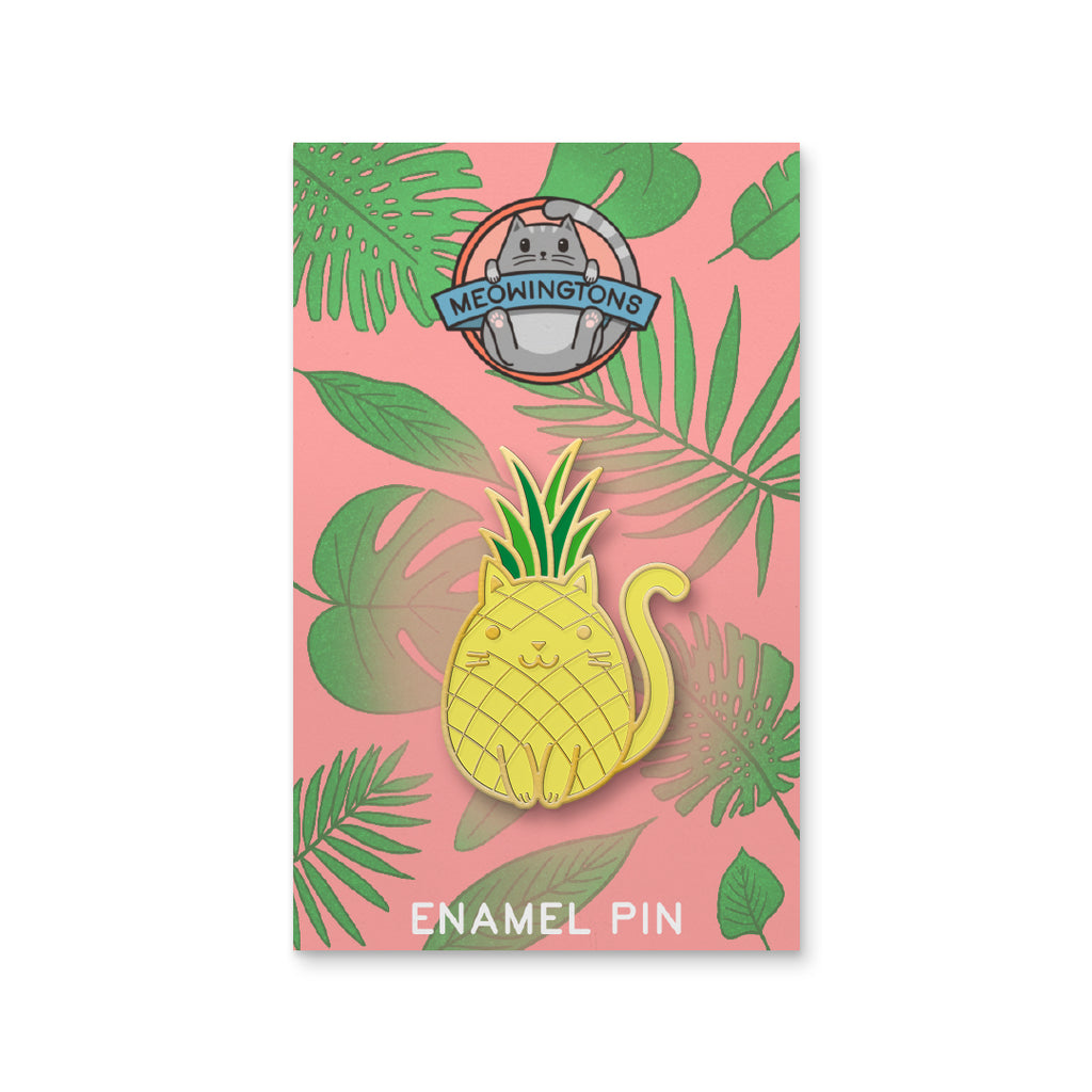 Tropicat Pineapple Pin