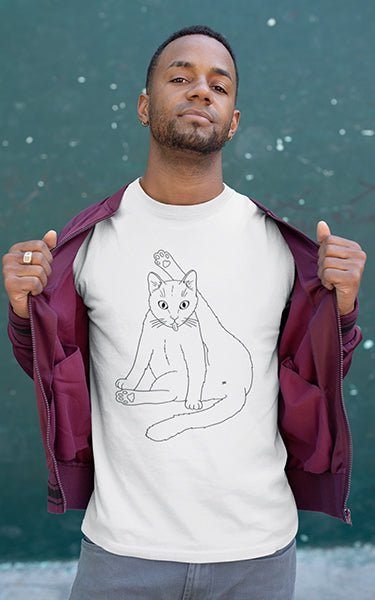 Privacy Please Cat T-Shirt