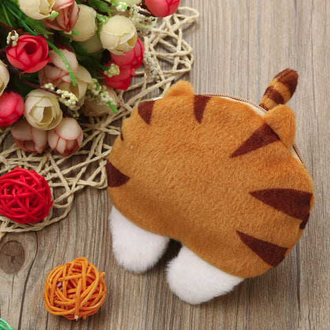 Cute Cat Butt Coin Purse