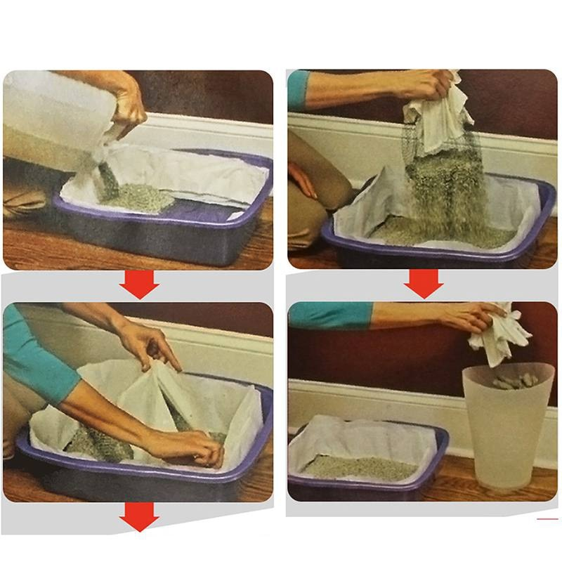 Sifting Cat Litter Box Liners