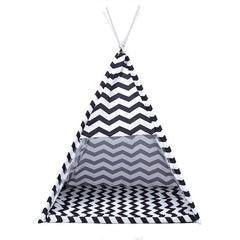 Modern Teepee Cat Bed
