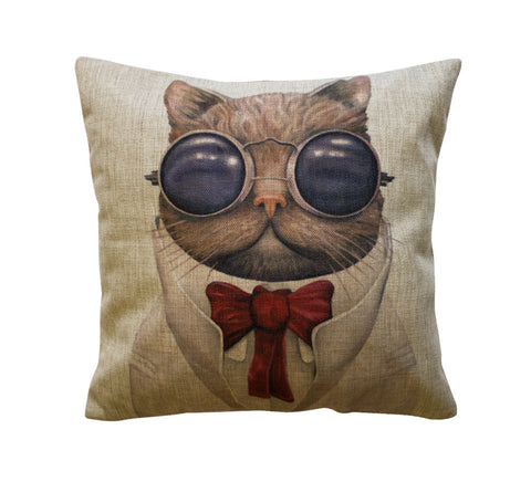 Professor Shanks Cat Toss Pillow
