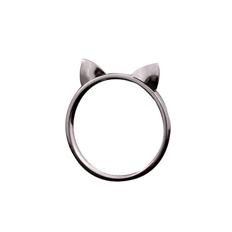 Lucky Cat Ears Ring