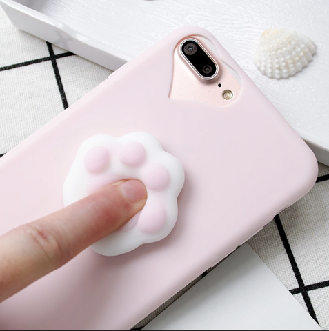 Squishy Cat Paw Accessory