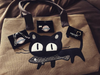 The Beau and Moe Cat Purrse Tote Bag