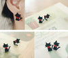 Tuxedo Cat Earrings