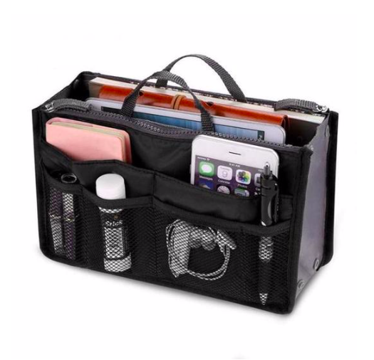 Universal bag organizer - switch between your bags easily