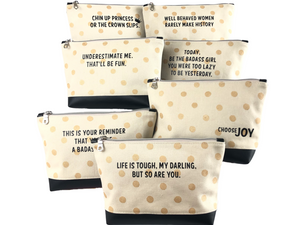 Inspirational Travel Pouches