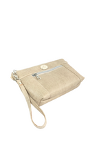 Load image into Gallery viewer, Almond Chain Faux Leather Crossbody Bag