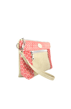 Load image into Gallery viewer, Coral Chain Faux Leather Crossbody Bag