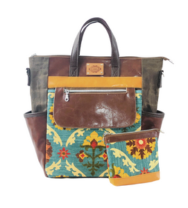 Convertible Travel Tote - Western Inspired - Part of ONEofaKIND Collection