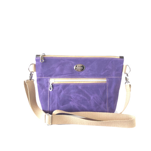 Wax Canvas Crossbody Bag