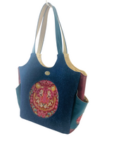 Load image into Gallery viewer, Market Tote - Tiger- ONEofaKIND Collection