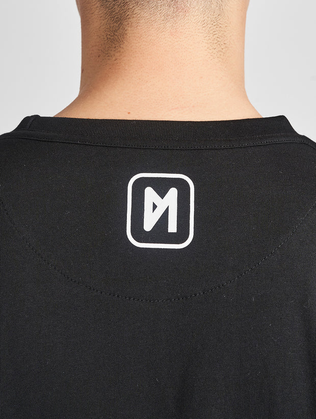 Maskulin Oskar T-Shirt Black - Maskulin.de Shop
