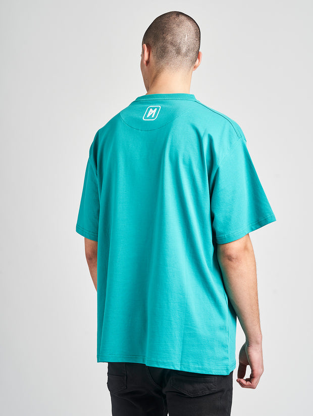 Maskulin Oskar T-Shirt Green - Maskulin.de Shop