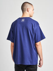 Maskulin Frank T-Shirt Blue - Maskulin.de Shop