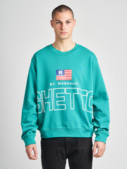 Maskulin Lukas Crewneck Green - Maskulin.de Shop