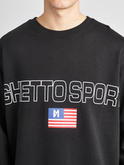 Maskulin Bruno Crewneck Black - Maskulin.de Shop