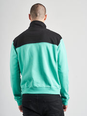 Maskulin Corner Store Crewneck Mint/Black - Maskulin.de Shop