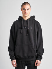 Maskulin M Basic Hoody Black - Maskulin.de Shop