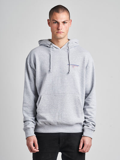 Maskulin GSport Hoody Grey Melange - Maskulin.de Shop