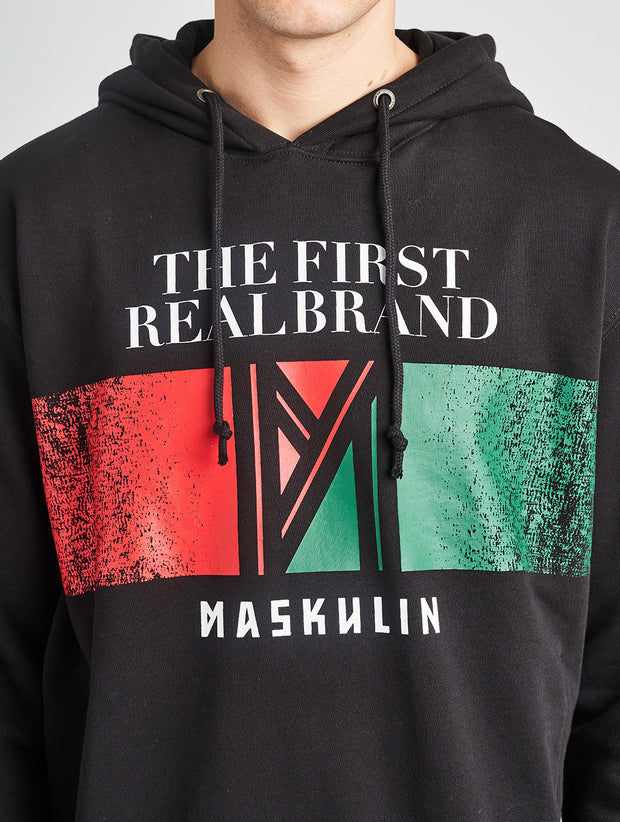 Maskulin RB Hoody Black - Maskulin.de Shop